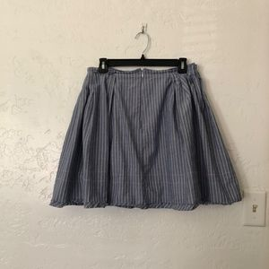 Madewell Skirts - Madewell 1937 mini skirt with liner, size 6